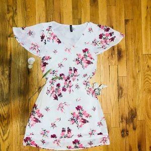 H&M's Floral Print Mini Dress